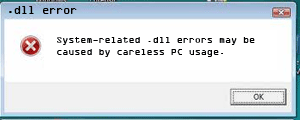 Causes of .dll errors
