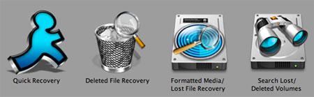 Data recovery program - Macintosh