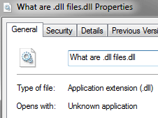 What are .dll files