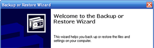 Windows Backup Wizard
