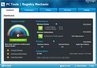 Registry Mechanic - Dashboard